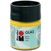 Sunshine Yellow - Marabu Glas 50ml A luminous interplay of colors on glass. Vivid, transparent colors. Good flow for even application. Dishwasher-safe without firing. Simply paint and leave to dry for 3 days. Water-based, odorless and non-fading. This package contains 50ml of glass paint. Conforms to ASTM D 4236. Comes in a variety of colors. Each sold separately. Imported.