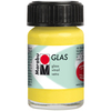 Lemon - Marabu Glas 15ml A luminous interplay of colors on glass. Vivid, transparent colors. Good flow for even application. Dishwasher-safe without firing. Simply paint and leave to dry for 3 days. Water-based, odorless and non-fading. This package contains 15ml of glass paint. Conforms to ASTM D 4236. Comes in a variety of colors. Each sold separately. Imported.