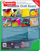 "Green - Bubbalux Ultimate Creative Craft Board 8.5""X11"" 3/Pkg"