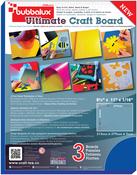 "Blue - Bubbalux Ultimate Creative Craft Board 8.5""X11"" 3/Pkg"