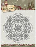 Jingle Bells Circle Frame - Find It Yvonne Creations Celebrating Christmas Die