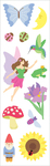 "Fairy Fantasy Strips 2""X6.5"" 3/Pkg - Mrs. Grossman's Stickers"