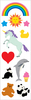 "Nostalgic Classics Strips 2""X6.5"" 3/Pkg - Mrs. Grossman's Stickers"