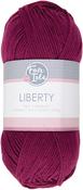 Burgundy - Fair Isle Liberty 200g Yarn
