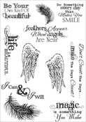 Inspiration 1 - Debbi Moore Life Quotes A5 Stamp Sheet