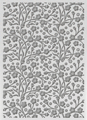 "Speckled Flowers - Ultimate Crafts Bohemian Bouquet Embossing Folder 5""X7"""