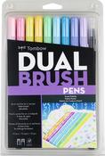 Pastel - Tombow Dual Brush Markers 10/Pkg