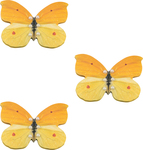 Cream Layered Butterflies - Ultimate Crafts Bohemian Bouquet Butterflies 3/Pkg