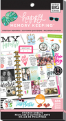 Everyday Memories, 606/Pkg - Create 365 Happy Planner Sticker Value Pack
