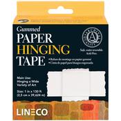 "1""X130' - Gummed Paper Hinging Tape"