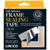 "Blue/Gray 1.25""X85' - Self-Adhesive Frame Sealing Tape"