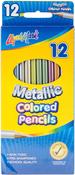 Metallic - Liqui-Mark Colored Pencils 12/Pkg