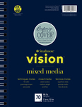 "Strathmore Vision Mixed Media Pad 7""X10"""