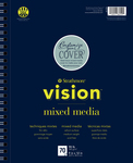 "Strathmore Vision Mixed Media Pad 9""X12"""