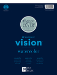 "Strathmore Vision Watercolor Pad 9""X12"""