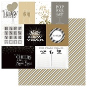 Cut Aparts Paper - Hello New Year - Photoplay