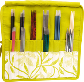 Greenery Double Pointed Needle Case 6-8""