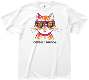 Extra Large - L.A. Imprints Cattitude T-Shirt