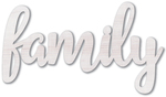 Family - Jillibean Soup Mix The Media Wood Script White