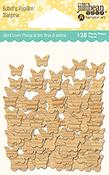 Butterflies 128/Pkg - Jillibean Soup Wood Veneer Shaker Filler
