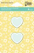 Small Heart, 6/Pkg - Shaker Tag Insert