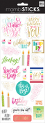 "Happy Day 12""X5"" - Specialty Stickers"