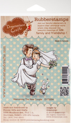 """Welcoming The New Couple - DreamerlandCrafts Cling Stamp 3""""X3"""""""