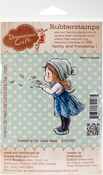 """Spreading The Good News - DreamerlandCrafts Cling Stamp 3.25""""X3"""""""