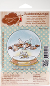 """Floating Through Time - DreamerlandCrafts Cling Stamp 3""""X3.25"""""""