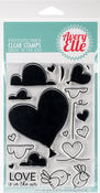 "Love Is In The Air - Avery Elle Clear Stamp Set 4""X6"""