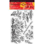 Natural Beauties Clear Stamps - Power Poppy