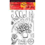 Loving Tulips Clear Stamps - Power Poppy