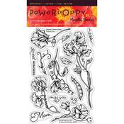 Sweet Memories Clear Stamps - Power Poppy