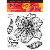 Tiger Lily XL Clear Stamps - Power Poppy