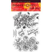 Dynamic Duos Clear Stamps - Power Poppy