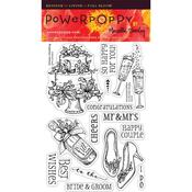 Dream Wedding Clear Stamps - Power Poppy