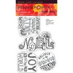 Joyful Arrangements Clear Stamps - Power Poppy