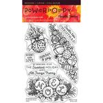 Spice It Up Clear Stamps - Power Poppy