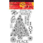 Botanical Tree Clear Stamps - Power Poppy