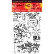 Simple Joys Clear Stamps - Power Poppy