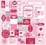 Sweetheart Details Sticker Sheet - Authentique