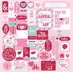 Sweetheart Details Sticker Sheet - Authentique