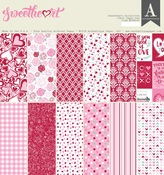 Sweetheart 12 x 12 Paper Pad - Authentique