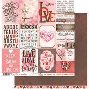 Sweetheart Paper - Cocoa Love - Penelope Dee