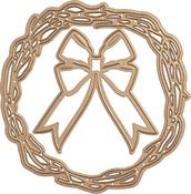 Four Seasons-Wreath - Spellbinders Shapeabilities Dies By Lene Lok