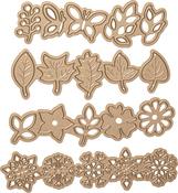 Four Seasons-Wreath Elements - Spellbinders Shapeabilities Dies By Lene Lok