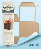 Four Seasons-Tea Light/Gift Box - Spellbinders Shapeabilities Dies By Lene Lok