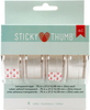 ".75""X27yd Each - Sticky Thumb Transparent Tape 4/Pkg"