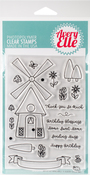 "Windmill - Avery Elle Clear Stamp Set 4""X6"""
