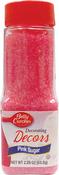 Pink - Betty Crocker Decorating Sugar 2.25oz